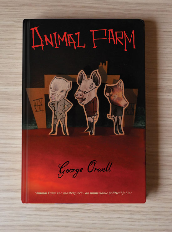 Animal Farm Hardback front cover