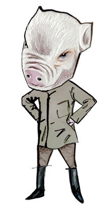 Evil Pig from Animal Farm