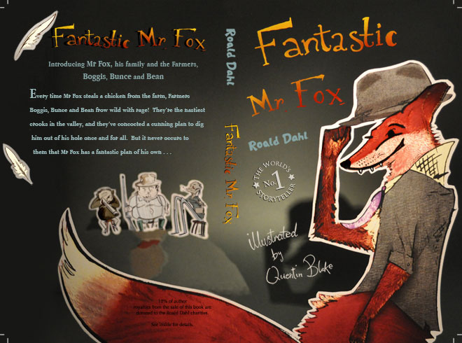 Fantastic Mr Fox re-design