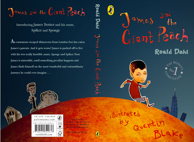 James and the Giant Peach bookcover