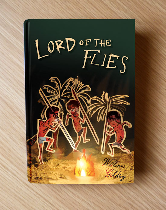 Lord of the Flies book cover hardback