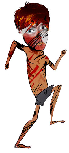 Jack Lord of the Flies character design