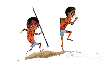 Lord of the Flies character designs