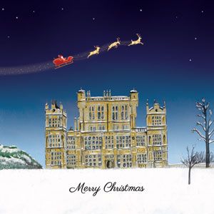 Wollaton Hall at Christmas
