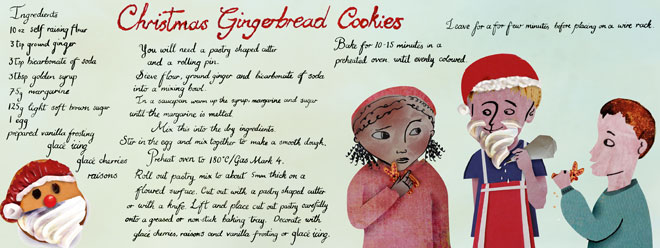 Gingerbread Cookies Recipe for kids