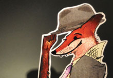 link to view Fantastic Mr Fox and other book cover work
